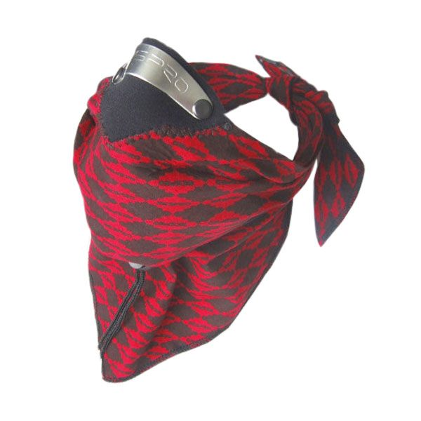 Respro Bandit Scarf - Diamond Red