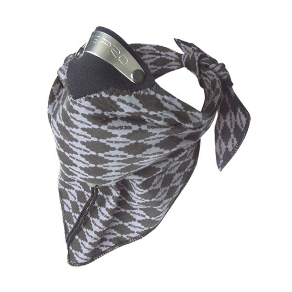 Respro Bandit Scarf - Diamond Grey