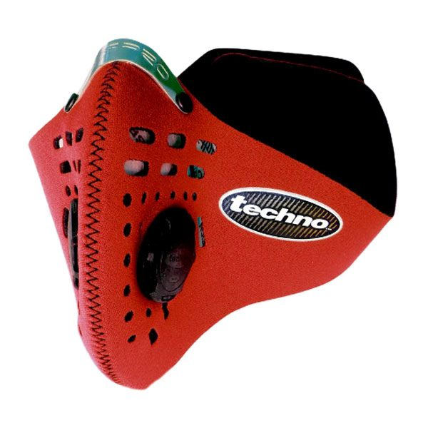 Respro Techno Face Mask - Red