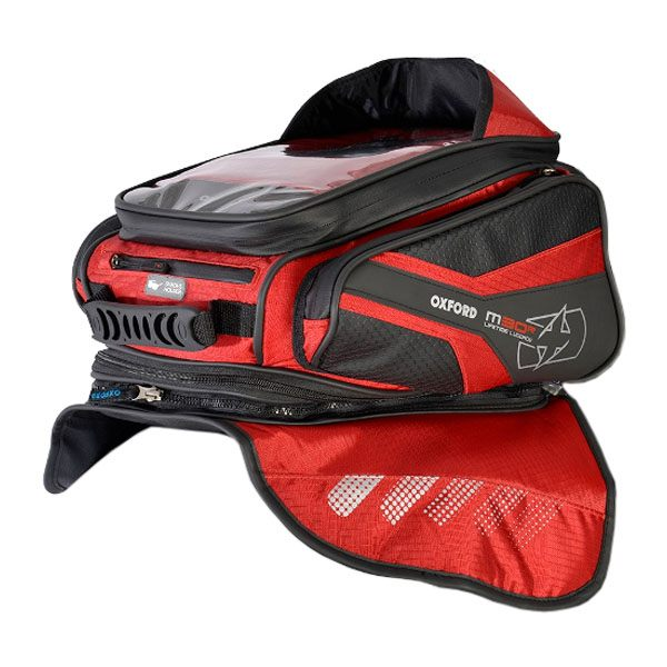 Oxford M30R Tank Bag - Red