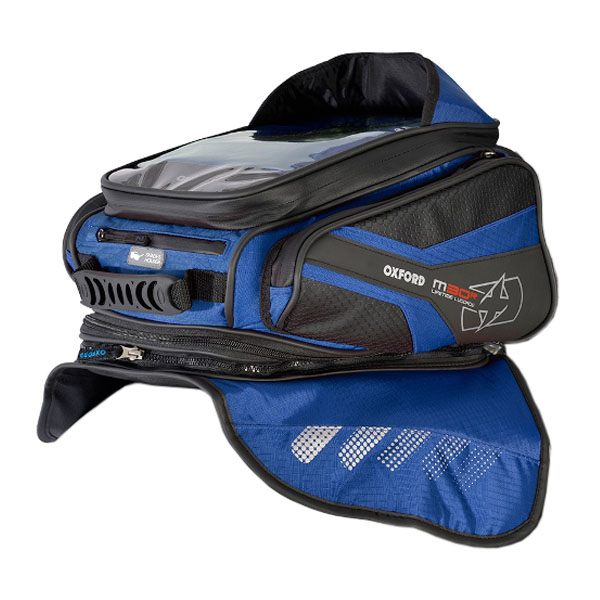 Oxford M30R Tank Bag - Blue