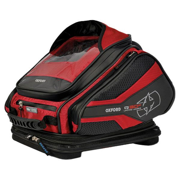 Oxford Q30R Tank Bag - Red