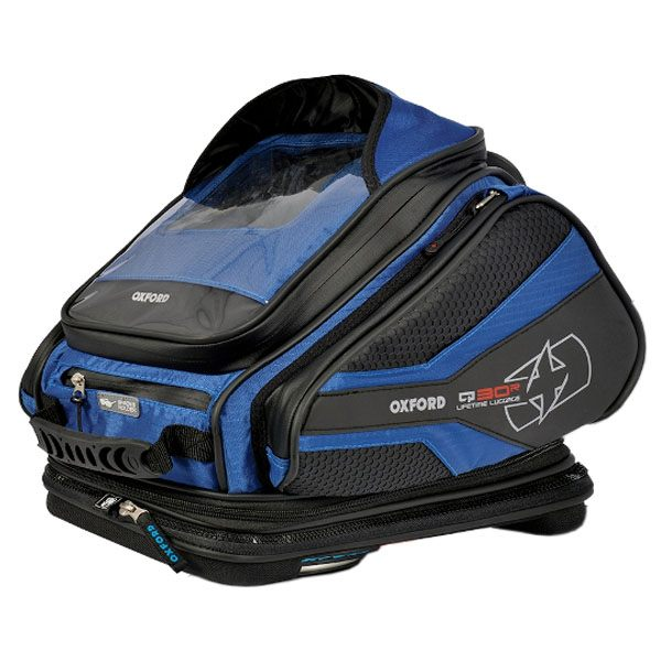 Oxford Q30R Tank Bag - Blue