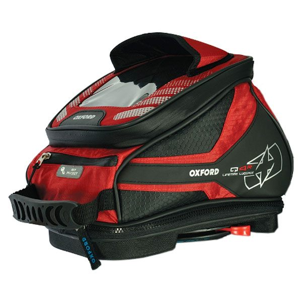Oxford Q4R Tank Bag - Red