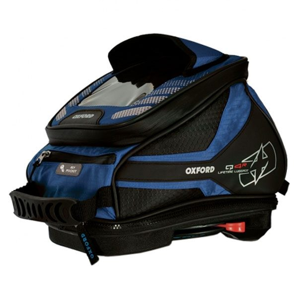 Oxford Q4R Tank Bag - Blue