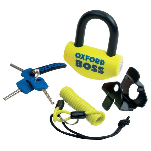 Oxford Boss SRA approved 14mm- Yellow