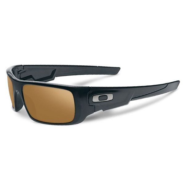 Oakley Crankshaft Sunglasses - Matte Black/Dark Bronze