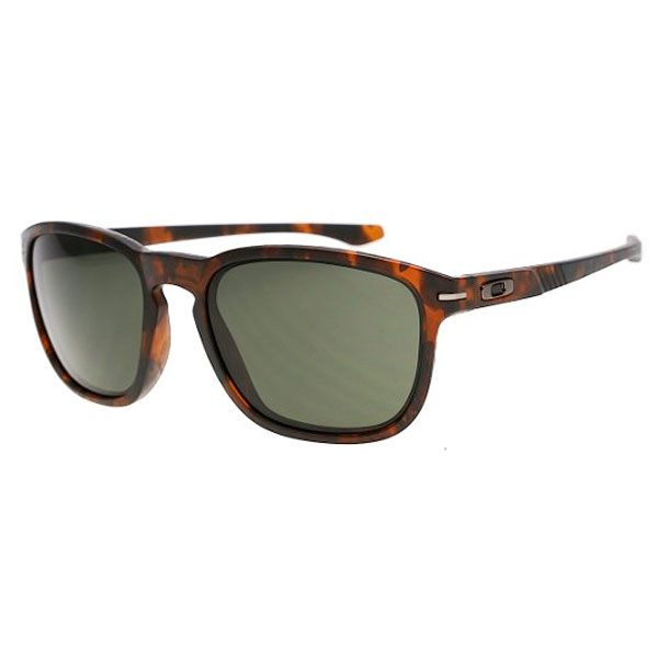 Oakley Enduro Sunglasses - Matte Brown Tortoise/Dark Grey