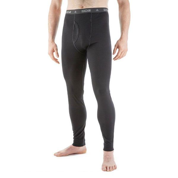 EDZ 200g Merino Wool Base Layer Leggings Mens - Black