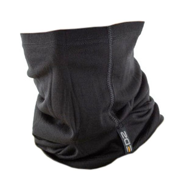EDZ 200g Merino Multi tube Neck Warmer - Black