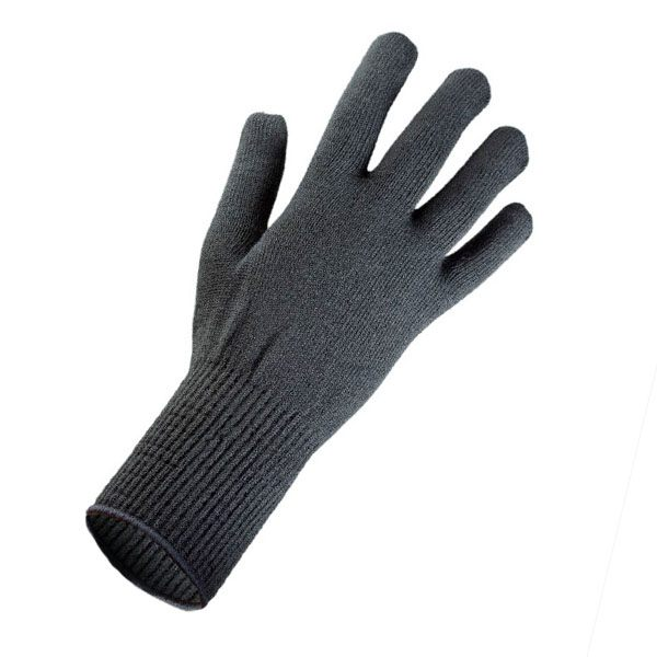 EDZ Merino Wool Thermal Liner Gloves - Black