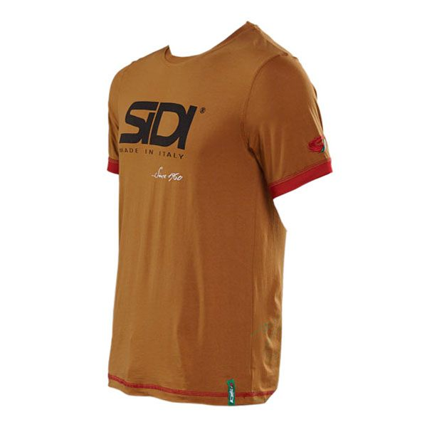Sidi Casuals T-Shirt Since 60 - Burnt Sienna