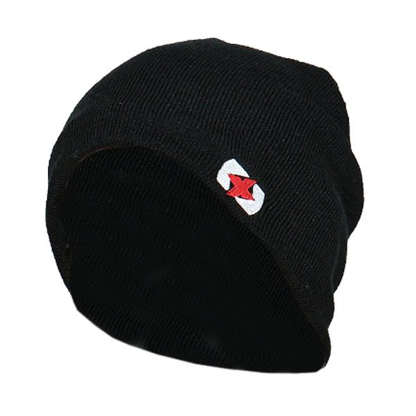 Oxford Beanie - Black/Grey