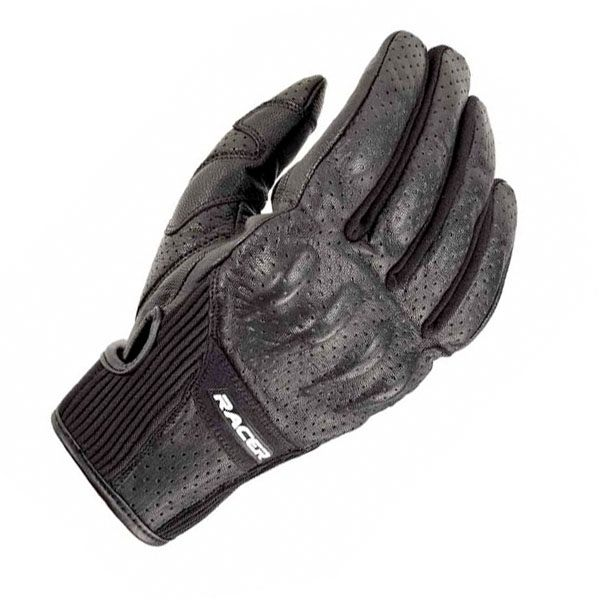 Racer Stone Gloves Ladies - Black