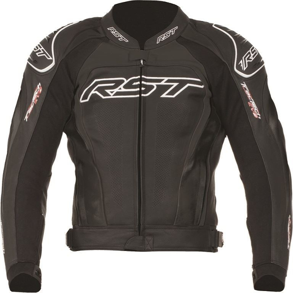 RST Tractech Evo 2 Leather Jacket - Black