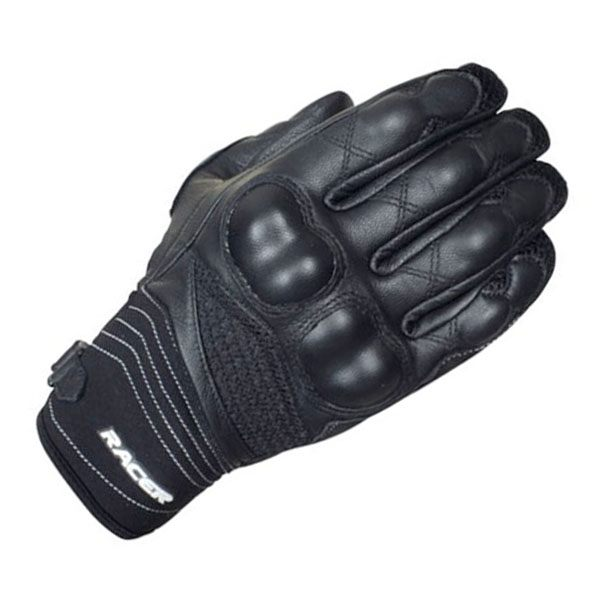 Racer Fury Gloves - Black
