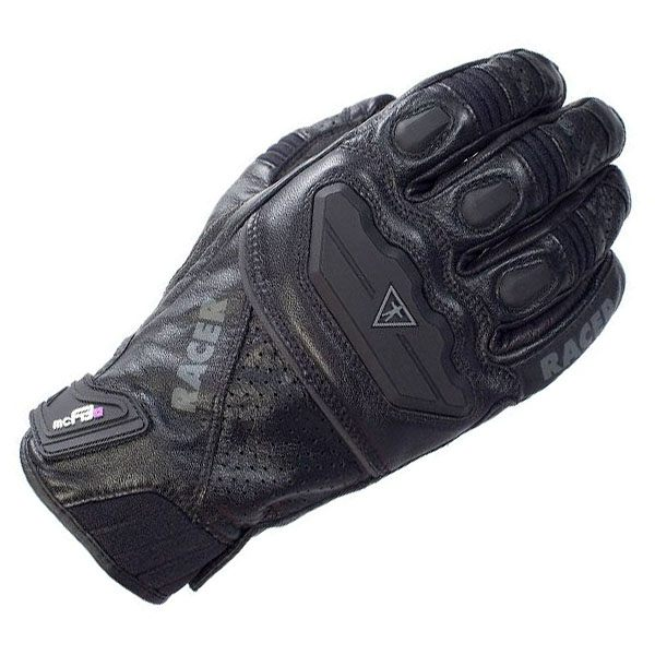 Racer Guide Gloves - Black