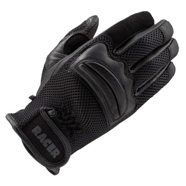 Racer Net Gloves - Black
