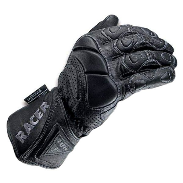 Racer Summer Fit Gloves - Black