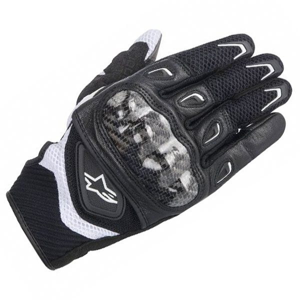 Alpinestars SMX-2 Air Carbon Gloves - Black/White