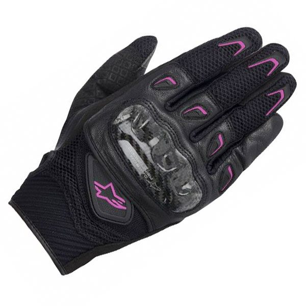 Alpinestars SMX-2 Air Carbon - Ladies Gloves Black/Fuchsia
