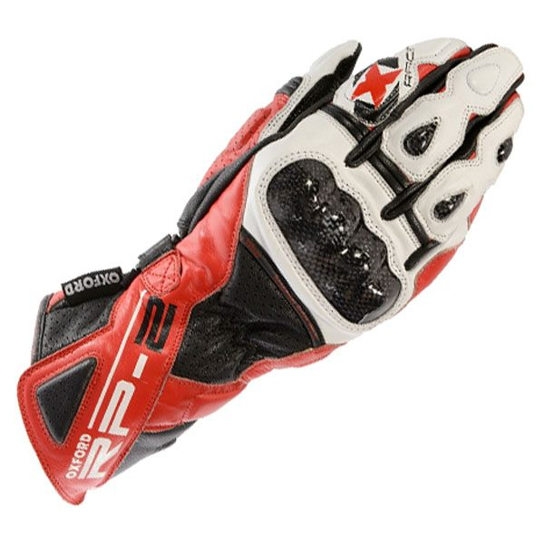 Oxford RP-2 Sum Gloves - Red/Black