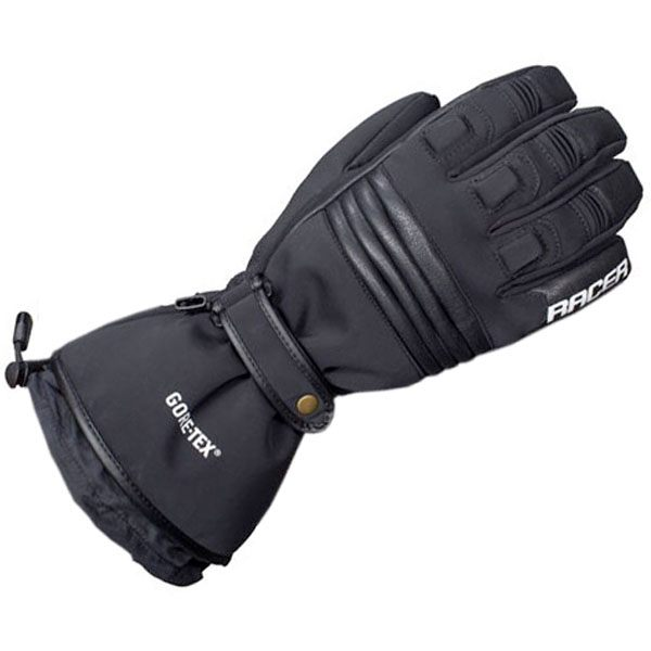 Racer Victory Gore-Tex Gloves Mens - Black