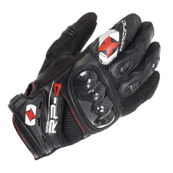 Oxford RP-4 Short Gloves - Tech Black