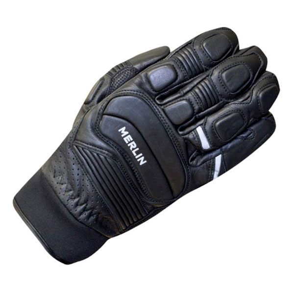 Merlin Nero Short Gloves Mens - Black