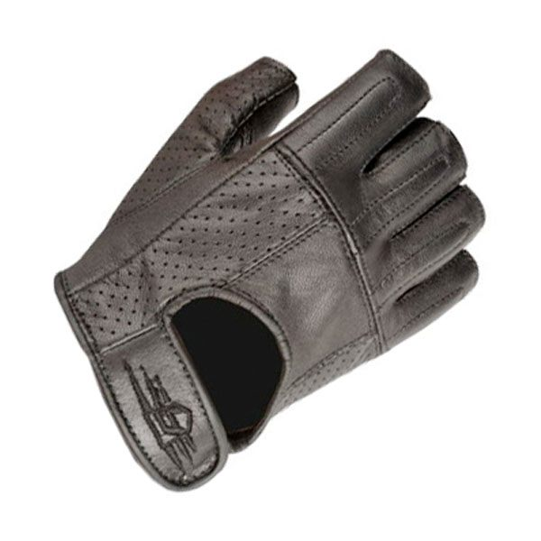 Akito Shorty Gloves - Black