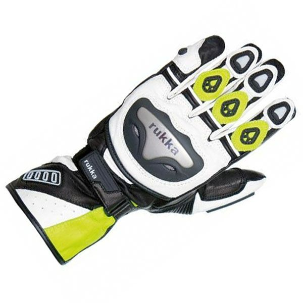 Rukka Argosaurus - Gore-Tex Gloves Mens Yellow/Black/White
